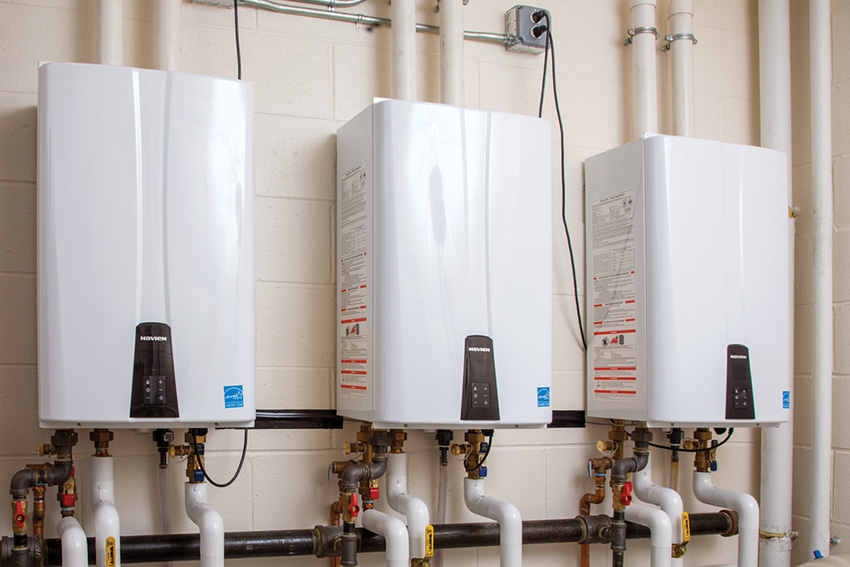 How much energy can a tankless water heater save?